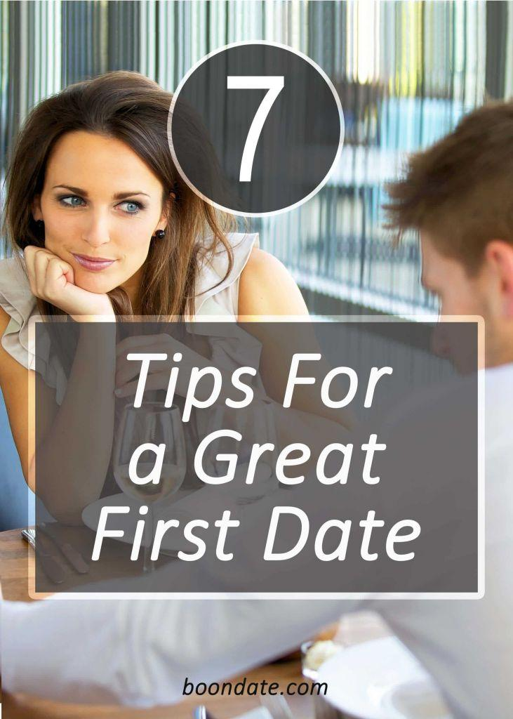 7 tips for a great first date
