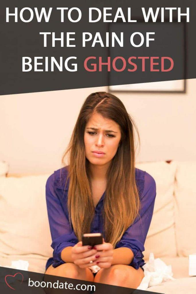 How to Deal with the Pain of Being Ghosted