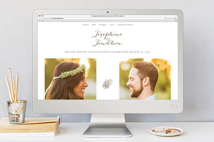 Building a wedding website